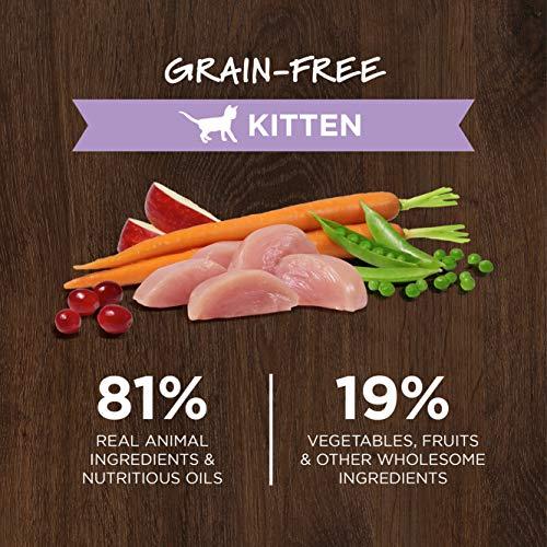 Instinct Grain Free Kitten Food, Original Kitten Recipe Natural Dry Cat Food or Wet Cat Food