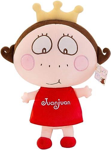 GJF Rollen Sie Prinzessin Cloth Puppe Plüschtier Puppe Puppe kreative Neue geben mädchen Geburtstagsgeschenk (Größe   30cm)
