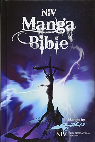 NIV Manga Bible: The NIV Bible with 64 pages of Bible stories retold manga-style