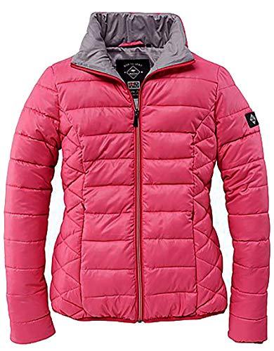 ROADSIGN Damen Steppjacke Jacke Übergangsjacke Downtech Jacket rot Fuchsia Sommer (44)