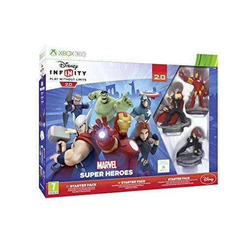 Disney Infinity 2.0 Marvel Superheroes Starter Pack (Xbox 360) - [Edizione: Regno Unito]