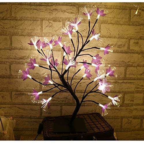 haiba Cherry tree lamp room ceiling lamp bedroom furnishings creative gift decoration lantern bedside romantic night light