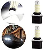 OCPTY 880 40W 66SMD White LED Light Bulb with Projector Replacement fit for Fog Light,2Pack