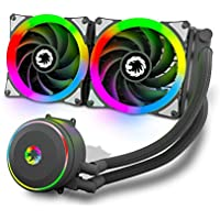 Gamemax Liquid Cooler All-in-One Dual Addressable RGB Fans