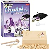 Yanxi Home Decor Crystal Mining Kits Kids Gemstone Dig Stem Science Kit Learning Education Toy Gems Discovery Game for Boys Girls