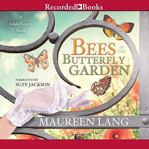Bees in the Butterfly Garden cover art