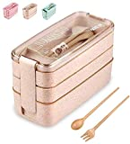 Bento Box 3 Layer, 3 Compartment Leak Proof Bento Boxes, Lunch Box Food