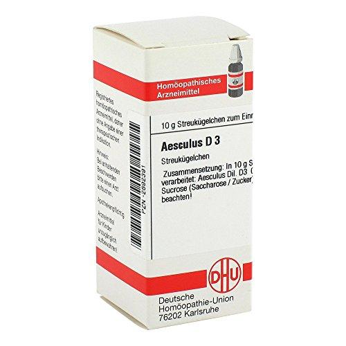 DHU Aesculus D3, 10 g Globuli