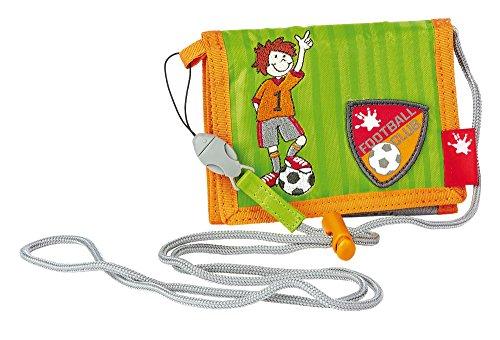 sigikid, Garçon, Pochette Bandoulière, Footballeur, Kily Keeper, Vert/Orange, 23814