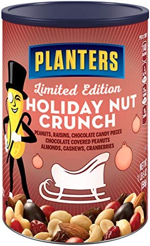 Planters Holiday Nut Crunch Nut Chocolate Mix 21 oz Jar product image