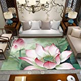 AHDTLAY Tapis Salon Pas Cher Impression de Style Chinois canapé Table Basse Coussin Chambre à Coucher Magasin Complet Chaud...