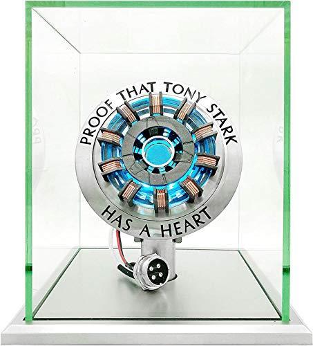 Die erste Generation Iron Man Arc Reaktor Brust Lampe, Legierung Reaktor Modell Spielzeug Hobby Sammlung Freund Geschenk MK1/MK2 A,MK2