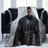 Avengers Captain America Blanket Oversized Warm Adult Super Soft Blanket with Soft Anti-Pilling Flannel for Adults & Kids 3D Print 80x60 in