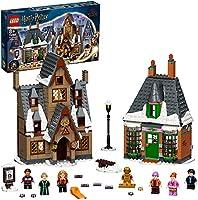 LEGO 76388 Harry Potter Zweinsveldbezoek 20-jarig Jubileum Bouwset met Gouden Poppetje, Collectors Item voor Fans