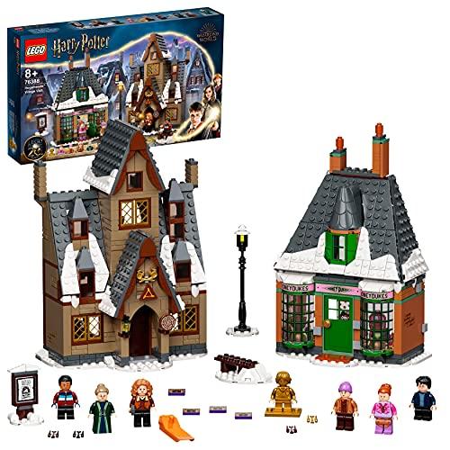 LEGO76388HarryPotterVisitaaLaAldeadeHogsmeade,Setparael20AniversarioconMiniFiguraDorada,JugueteparaNiños