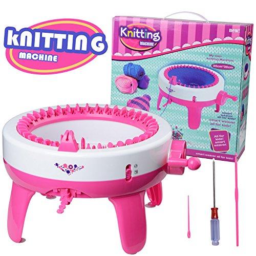 Máquina de tejer de juguete para niños