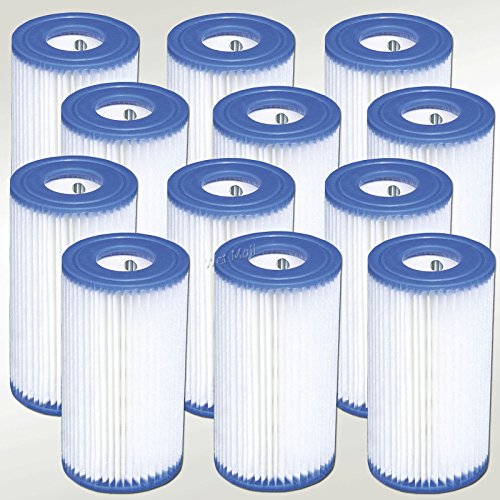 Intex Pool Easy Set Type A Replacement Filter Pump Cartridge (12...