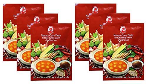 COCK Namya Currypaste aus Thailand, 6er...