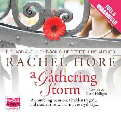 A Gathering Storm audiobook cover art