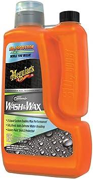Meguiar's G210256EU Hybrid Ceramic Wash and Wax Shampoo with Hybrid Ceramic SiO2 boost protection, 1.66 Litres: image