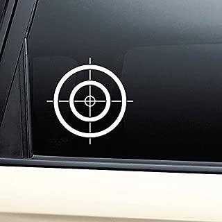 Crosshair Gun Target Vinyl Decal Laptop Car Truck Bumper Window Sticker