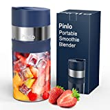 Portable Blender, Personal Size Blender for Shakes and Smoothies, USB Rechargeable Ice Crushing...