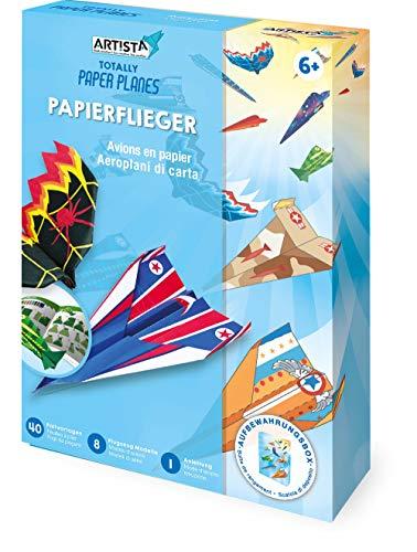 Artista Manualidades de avión de Papel, Kit DIY para niños, Juego Creativo en práctica Caja de Almacenamiento (9301915)