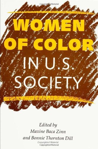 Women of Color in U.S. Society (Women In The Political Economy) (English Edition)