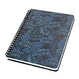 SIGEL JN602 Spiralblock Notizblock Jolie, ca. A5, dot-Lineatur, 120 Seiten, blau/schwarz - weitere Modelle