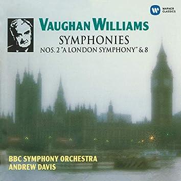 """Vaughan Williams: Symphonies No. 2 """"A London Symphony"""" & No. 8"""