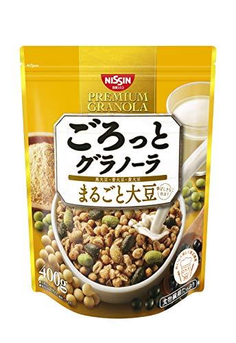 スマートマットライト 日清シスコ ごろっとグラノーラ 3種のまるごと大豆 400g×6袋