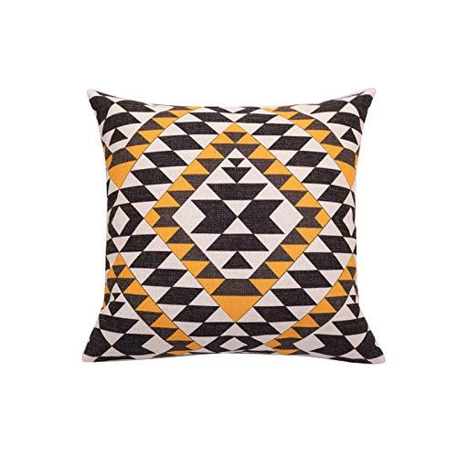 Toll2452 Aztec decorative pillow cover Ethnic throw pillow covers Navajo pillow cases Tribal pillow case Geometric cushion case Home decor gift 18x18