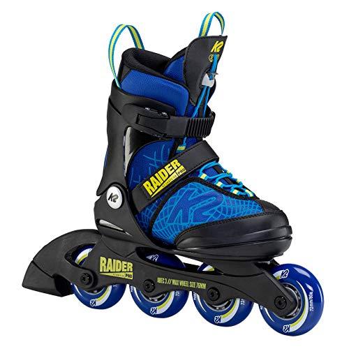 K2 Skates Jungen Raider Pro Inline Skate - Blue-Black