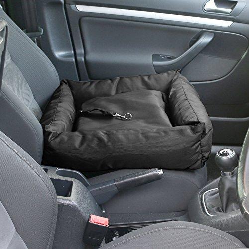 Me & My Pets Car Seat Cushion Bed - Black