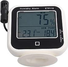 Medidor de punto de rocío digital Pantalla LCD Higrómetro térmico de humedad para el hogar para laboratorio