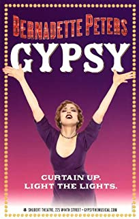 Pop Culture Graphics Gypsy Poster Broadway Theater Play 11x17