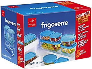 Bormioli Frigoverre - Caja de conservas de Vidrio