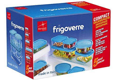 Bormioli 388840 Contenitori In Vetro, 5 Pezzi