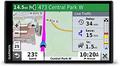 "Garmin DriveSmart 65 with Amazon Alexa, Built-in Voice-Controlled GPS Navigator with 6.95"" High-Res Display"