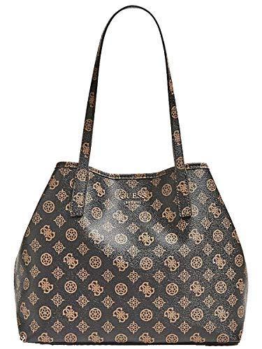 Guess VIKKY Bolso shopping mujeres Marrón Bolso shopping