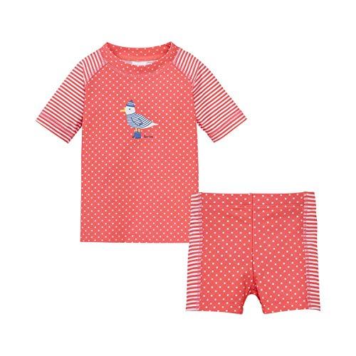 Bornino Baby Badeshirt und Badeshorts/UV-Schutzkleidung / 2-teiliges Set Badebekleidung