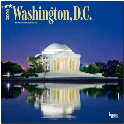Washington, D. C. 2014: Original BrownTrout-Kalender [Mehrsprachig] [Kalender]
