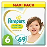 Pampers Premium Protection Lot de 3 couches Taille 6 13-18 kg