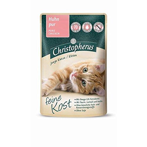 Allco Christopherus Cat Kitten - Huhn pur | 12x 85 g Nassfutter