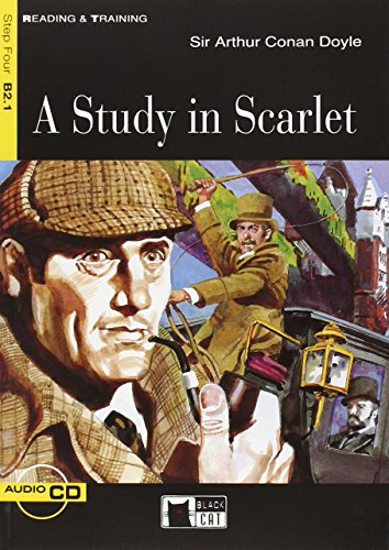 Study in Scarlet+cd [Lingua inglese]: A Study in Scarlet + audio CD