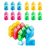 fanshiontide 24 Piezas Sacapuntas con Borrador Sacapuntas Pencil Sharpener para Lapices Colores con Tapa y Contenedor para Oficina Hogar para Estudiantes Escuela Oficina Arte(5 colores,plástico)