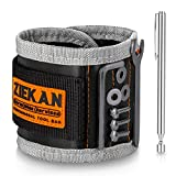 Koxly Magnetic Wristband Adjustable Wrist Band Organizer Tool Belts Holder for Holding Screws, Nails, Drill Bits, Unique Magnet Tools Gifts for Men, Women, Father, Dad, Husband, Boyfriend, Handyman