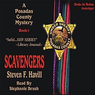 Scavengers audiobook cover art