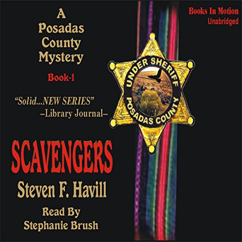 Scavengers audiobook cover art