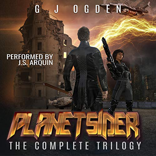 The Planetsider Trilogy Audiobook By GJ Ogden cover art